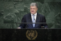 POROSHENKO IN THE UN: THE FIRST VICTIM OF RUSSIAN AGGRESSION IN UKRAINE WAS A CRIMEAN TATAR