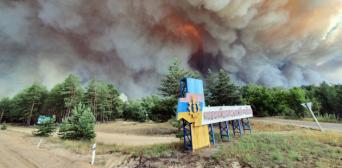 Триває збір коштів для постраждалих від пожеж на Луганщині