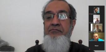 Д-р Мамун аль-Азамі прочитав для слухачів Української школи ісламознавства лекцію про розвиток лідерства в громадах