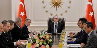 Кримськотатарська делегація на зустрічі з вищим керівництвом Туреччини