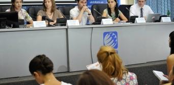 Пресс-конференція пройшла в національному інформагентстві Укрінформ в рамках безстрокової кампанії «Крим — це Україна»