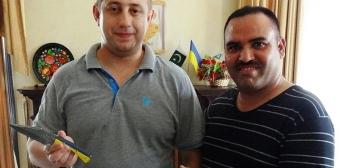 В Пакистані популярна українська символіка