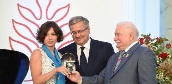 Вручення премії Жанні Нємцовій. Варшава, 4 серпня 2015 р.