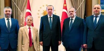 Туреччина, Анкара, 3 серпня 2015 року, зустріч лідерів кримськотатарського народу з Президентом Туреччини