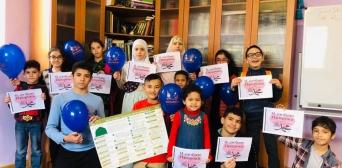 """© ІКЦ м.Запоріжжя """"Віра""""/фейсбук: Особливі заняття в школі арабської мови, присвячені постаті пророка Мухаммада"""