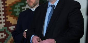 Муфтій ДУМУ «Умма» вітає голову Меджлісу Рефата Чубарова з високою нагородою