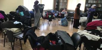 Мусульмани Дніпра передали нужденним одяг у рамках акції «Тепла зима»