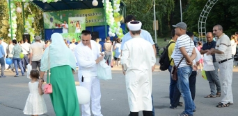 How Ukrainian Muslims in Different Cities Celebrated Eid al-Fitr