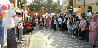 Two and a half thousand Muslims offered up Eid al-Adha prayers in the mosque of the Kyiv ICC