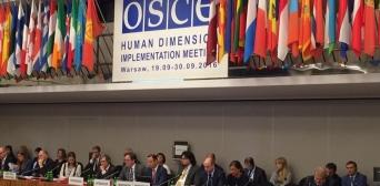 На заседании ОБСЕ в Варшаве затронули тему нарушения прав крымских татар