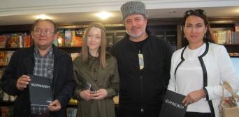 В украинской столице представлен В українській столиці презентовано кримськотатарський букварбукварь