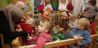 Бажання творити добро — незмінне: мусульманки відвідали інтернати Коростишева та Новоград-Волинського