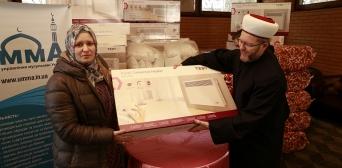 Проект «Тепла допомога»: мусульмани допомагають одновірцям, які опинилися у непростому станоищі