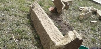 У Криму екскаватором розкопали середньовічний мусульманський цвинтар. © Февзі Айсерезлі/Фейсбук: