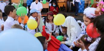 Гімназія «Наше майбутнє» привітала з Днем знань своїх учнів