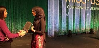 Модель в хиджабе Халима Аден мечтает стать послом ООН