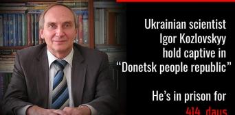 The DPR refuses to hand over scholar Ihor Kozlovsky to Ukraine