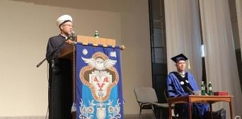 Впервые в истории с кафедры Могилянки звучало слово муфтия