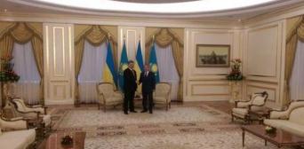 Президенти України та Казахстану прийшли до взаєморозуміння