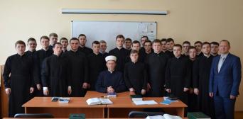 Студенти православної богословської академії дізнавалися про Іслам з вуст муфтія ДУМУ «Умма»