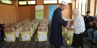 Мусульмани-ВПО отримали допомогу в ІКЦ м. Києва