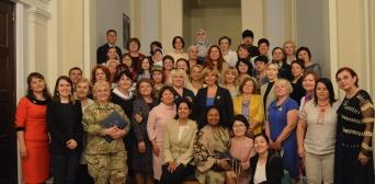 У Верховній Раді почули про біль жінок Сирії, Сребрениці та України