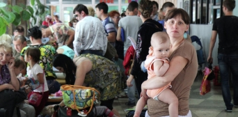Refugees from occupied territories of Ukraine