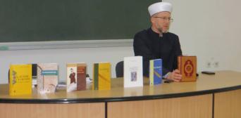 Муфтій ДУМУ «Умма» в Нацуніверситеті ДФСУ розповів про іслам і мусульман