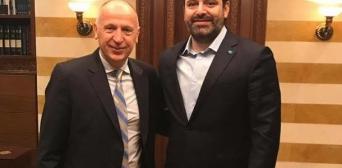 Премьер-министр Ливана получил в подарок книгу по истории Украины на арабском языке