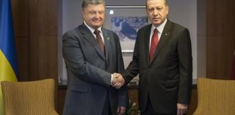Президенти України та Туреччини домовилися про активізацію співпраці