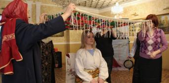 ©️Сафія: Український весільний обряд «розплітання нареченої»