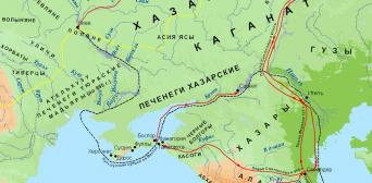 О маршруте похода Мухаммада бин Марвана против Хазарского каганата