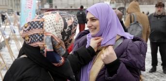 Всесвітній день хіджабу українські мусульманки відзначали подарунками