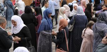 Київські мусульмани відзначають свято Курбан-байрам