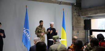 RAMU UMMAH AWARDED THE MEDAL TO 57 DEFENDERS FOR THEIR SERVICE TO ISLAM AND UKRAINE