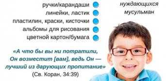 Благодійний Рух «Мар'ям» закликає допомогти зібрати до школи дітей з нужденних родин