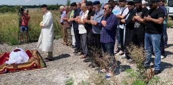 Загиблого під Луганськом Шаміля Румигіна поховали на мусульманському кладовищі Дніпра