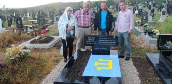Над могилою Решата Аметова кримські татари з Туреччини встановили башташ