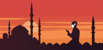 Мусульмане завершили месяц Рамадан в карантине