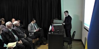 Киевляне узнавали об общей истории Турции и Украины
