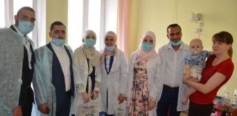 У Курбан-байрам вінницькі мусульмани відвідали своїх підопічних у дитячому онкологічному відділенні