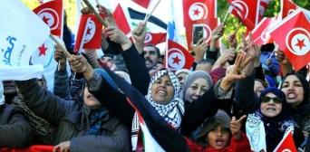 Акции протеста в Тунисе