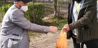Активісти сєверодонецького ІКЦ напередодні Рамадана роздали продуктову допомогу студентам-мусульманам