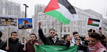 В Киеве прошел митинг против решения Трампа по Иерусалиму
