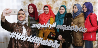 Spring Hijab Day at Vernadskiy University