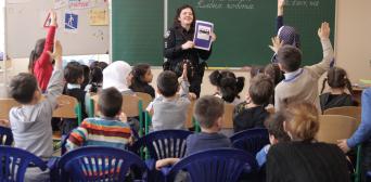 Осведомленность, которая способна спасти жизнь: встреча с патрульным копом в гимназии «Наше будущее»