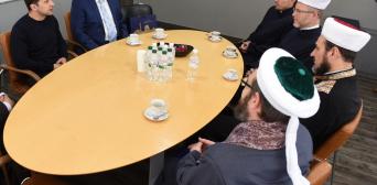 Новоизбранный Президент Украины встретился с мусульманскими лидерами