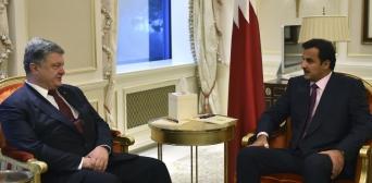 Україна та Катар зацікавлені у поглибленні економічноі співпраці