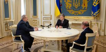 Петро Порошенко: «Держава має забезпечити захист українців та кримських татар на законодавчому рівні»