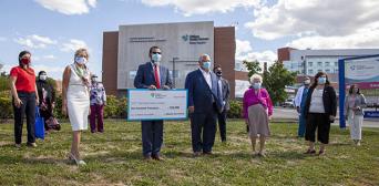 ©️ТНР/.Іnsauga : Канадские мусульмане пожертвовали 5 млн долларов в реконструкцию больницы в Миссиссога